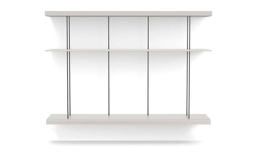 Pending - Modloft Office Bayard Bookshelf XL in Chateau Gray