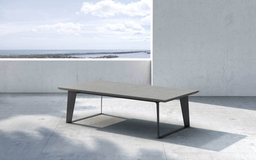 Pending - Modloft Outdoor Amsterdam Outdoor Coffee Table in Gray Concrete