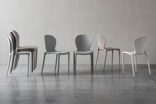 Pending - Modloft Outdoor Vieste Stacking Dining Chairs - Available in 4 Colours