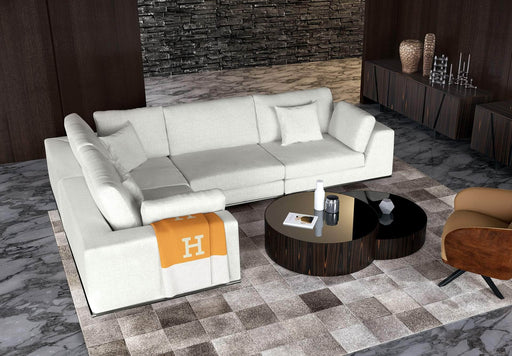 Pending - Modloft Sectionals Perry Sectional 2 Arm Corner Compact Sofa - Available in 2 Colours