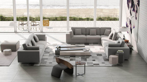 Pending - Modloft Sectionals Perry Sectional 2 Arm Corner Extended Sofa - Available in 2 Colours