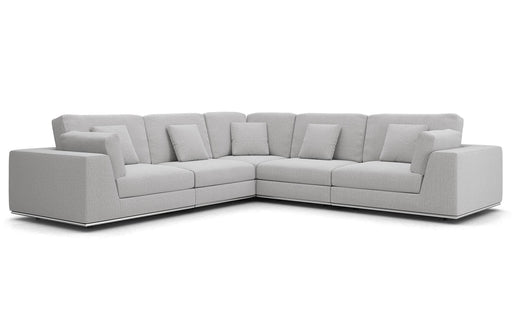 Pending - Modloft Sectionals Perry Sectional 2 Arm Corner Sofa - Available in 2 Colours