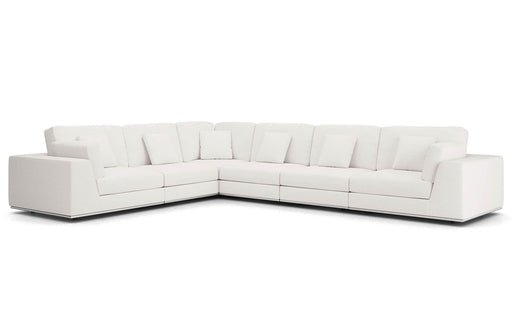 Pending - Modloft Sectionals Perry Sectional Large 2 Arm Corner Sofa - Available in 2 Colours