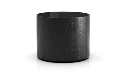 Pending - Modloft Side Tables Black Glass Berkeley Side Table - Available in 2 Colours