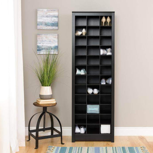 Pending - Modubox Black Space-Saving Shoe Storage Cabinet - Multiple Options Available