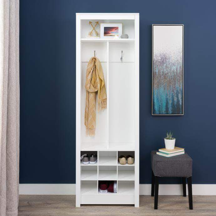Pending - Modubox White Space-Saving Entryway Organizer with Shoe Storage