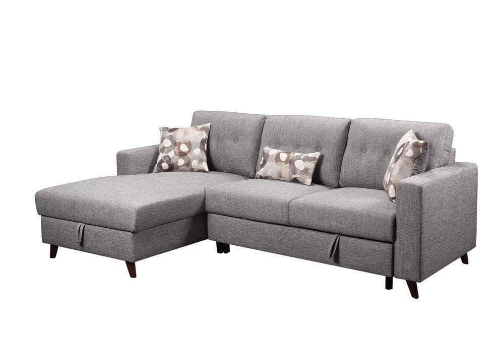 Pending - Primo International Left Facing Chaise Susanna Sleeper Sectional