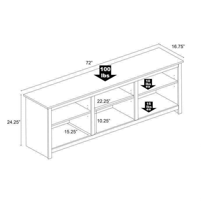 Pending - Review Sonoma 72 inch TV Stand