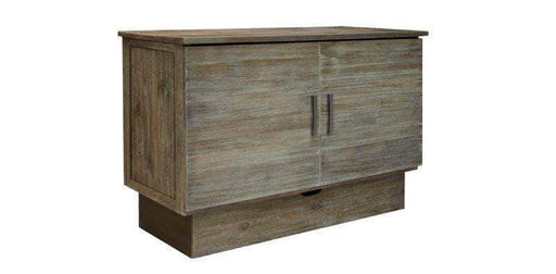 Sleep Chest Murphy Bed Stockholm Murphy Bed in Brushed Grey by Wholesale Furniture Bokers