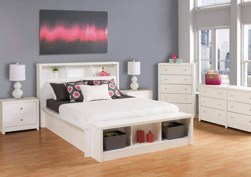 Prepac Calla Bedroom Collection White Calla Six Drawer Dresser - Multiple Options Available