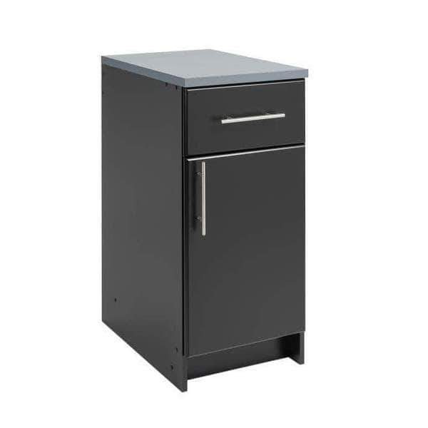Prepac ELITE Home Storage Collection Black Elite 16 inch Base Cabinet - Multiple Options Available