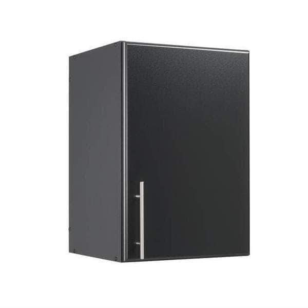 Prepac ELITE Home Storage Collection Black Elite 16 Inch Stackable Wall Cabinet - Multiple Options Available