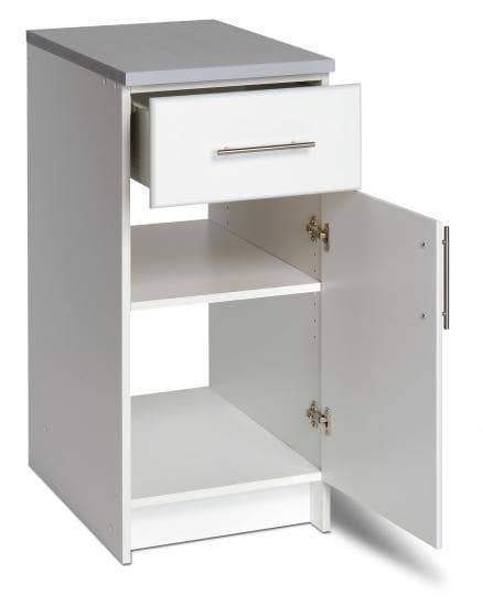 Prepac ELITE Home Storage Collection White Elite 16 inch Base Cabinet - Multiple Options Available
