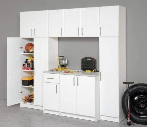 Prepac ELITE Home Storage Collection White Elite 16 inch Broom Cabinet - Multiple Options Available