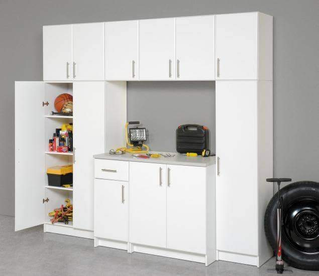 Prepac ELITE Home Storage Collection White Elite 16 Inch Stackable Wall Cabinet - Multiple Options Available