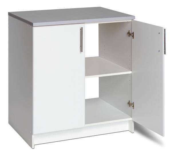Prepac ELITE Home Storage Collection White Elite 32 inch Base Cabinet - Multiple Options Available