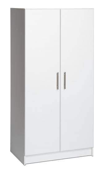 Prepac ELITE Home Storage Collection White Elite 32 inch Storage Cabinet - Multiple Options Available