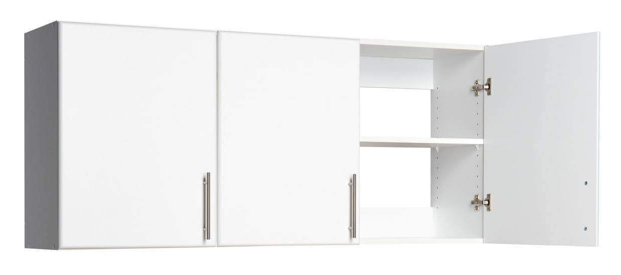 Prepac ELITE Home Storage Collection White Elite 54 inch Wall Cabinet - Multiple Options Available