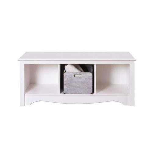 Prepac Entryway White Cubbie Bench - Multiple Options Available