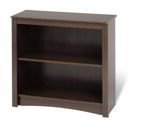 Prepac Home Office Espresso Two Shelf Bookcase - Multiple Options Available