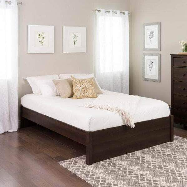 Prepac Platform Beds Queen / Espresso Select 4-Post Platform Bed - Multiple Options Available