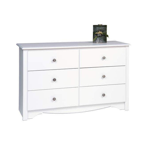 Prepac White Sonoma Children's 6 Drawer Dresser - Multiple Options Available