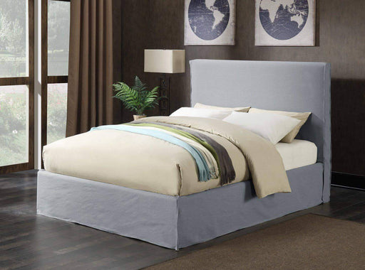 Primo International Bedroom Queen Lima Complete Platform Bed with Storage Base