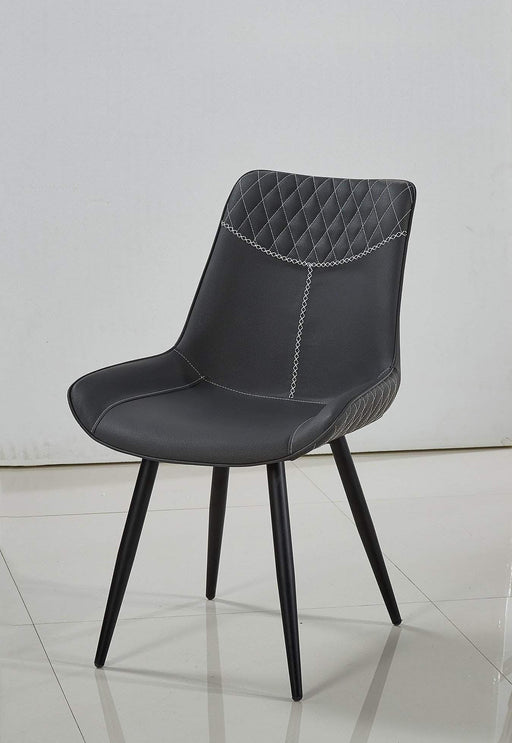 Primo International Dining Chair Grey Contemporary Upholstered Dining Chair Set - Available in 2 Colours