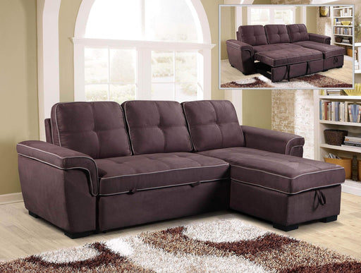 Primo International Giordano Sleeper Sectional Sofa