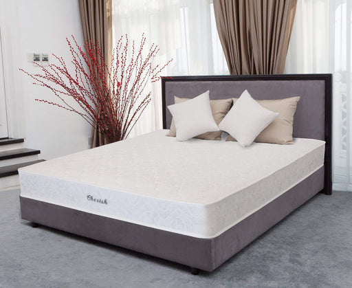"Primo International Mattress King Cherish 8"" Tight Top Mattress with Bonnell Innerspring"
