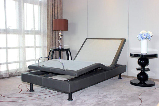 Primo International Mattress Twin XL Escape Adjustable Bed with 2 Motors and Wireless Remote Control