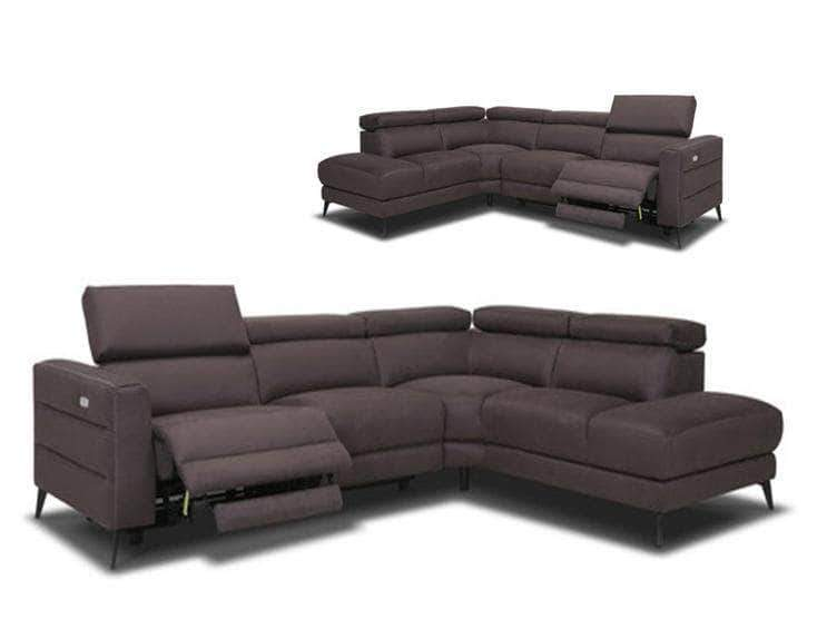 Primo International Norice Power Reclining Sectional Sofa