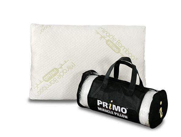 Primo International Pillow Miracle Pillow with Shredded Memory Foam / Polyfoam