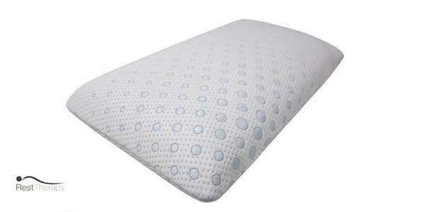 Primo International Pillow Nordic Standard Gel Memory Foam Pillow by Rest Therapy