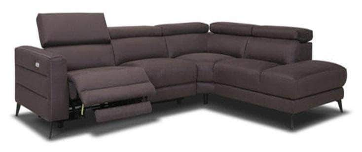 Primo International Right Facing Chaise Norice Power Reclining Sectional Sofa