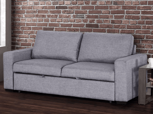 Primo International Sleeper Loveseat Vincenzo Media Loveseat Sleeper Sofa Bed