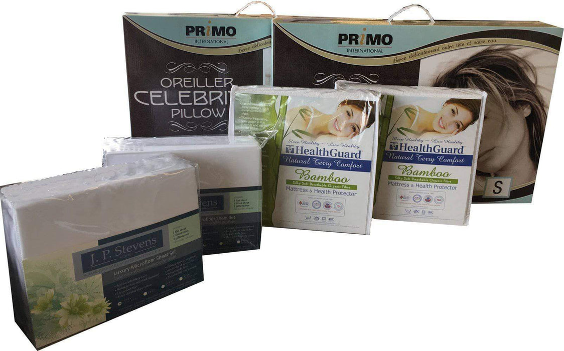 Rest Therapy Bedding Package Twin Over Twin Bunk Bed Bedding Package