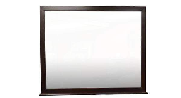 True Contemporary Mirror Fraser Espresso Mirror