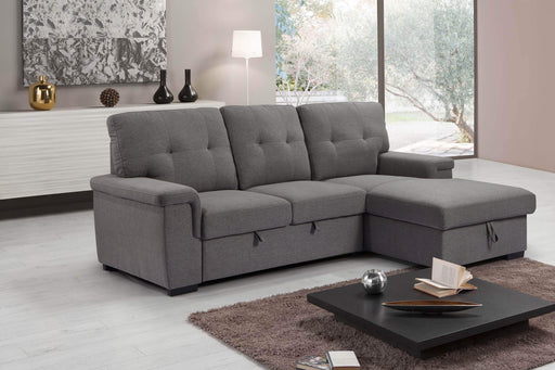 Urban Cali Sleeper Sectional Giada Sleeper Sectional Sofa Bed with Loveseat and Storage Chaise