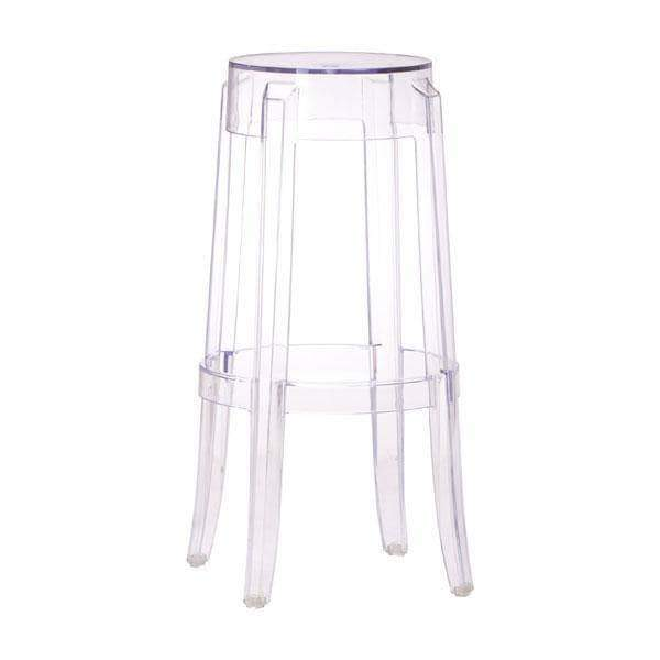 Zuo Modern Bar Stool Anime Bar Stool Transparent