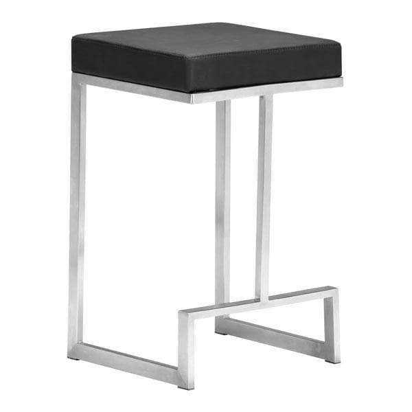 Zuo Modern Bar Stool Black Darwen Counter Stool (Includes 2 per Box)