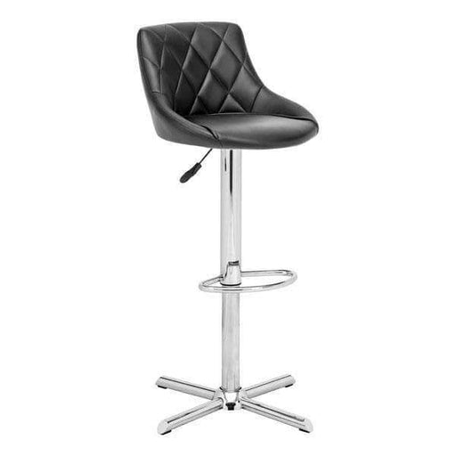 Zuo Modern Bar Stool Black Devilin Bar Stool
