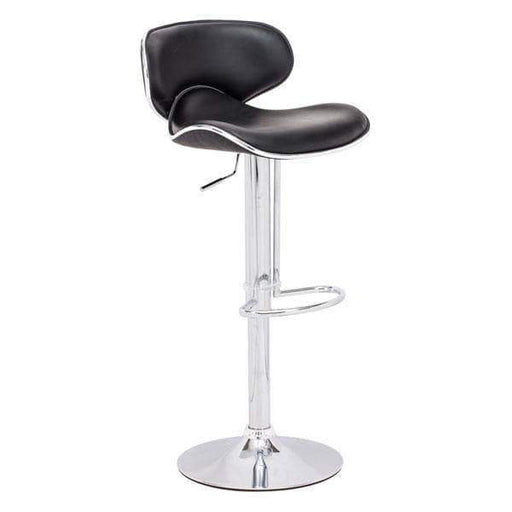 Zuo Modern Bar Stool Black Fly Bar Stool
