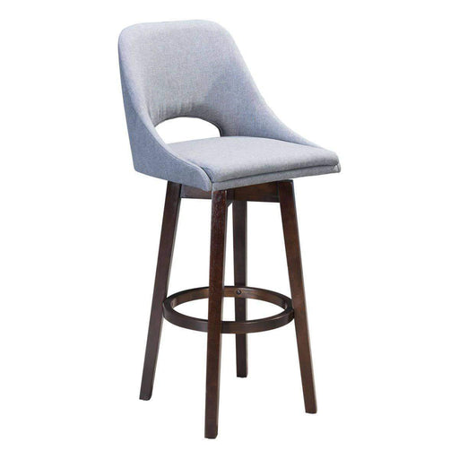 Zuo Modern Bar Stool Charcoal Grey Ashmore Bar Stool
