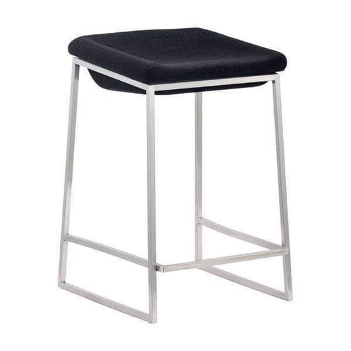 Zuo Modern Bar Stool Dark Grey Lids Counter Stool (Includes 2 per Box)