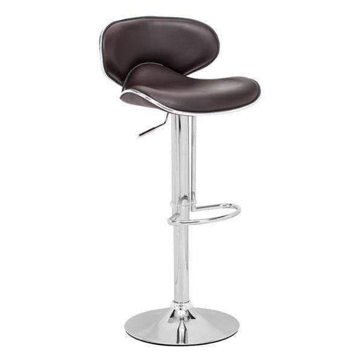 Zuo Modern Bar Stool Espresso Fly Bar Stool