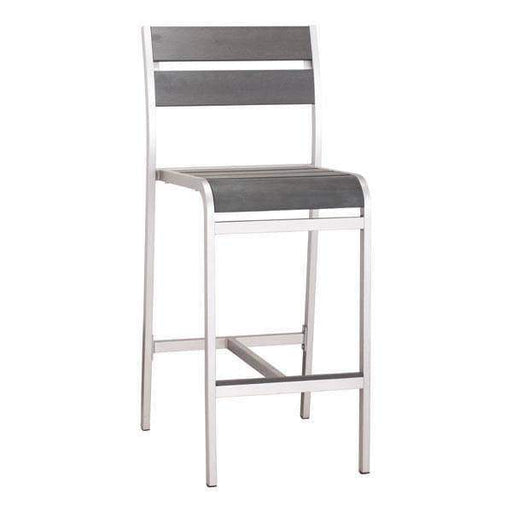 Zuo Modern Bar Stool Megapolis Armless Bar Chair (Includes 2 per Box)