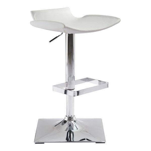 Zuo Modern Bar Stool White Magi Bar Stool