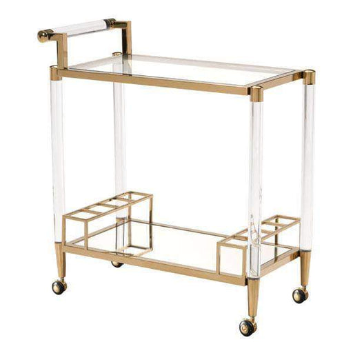 Zuo Modern Bar Table Existential Bar Cart