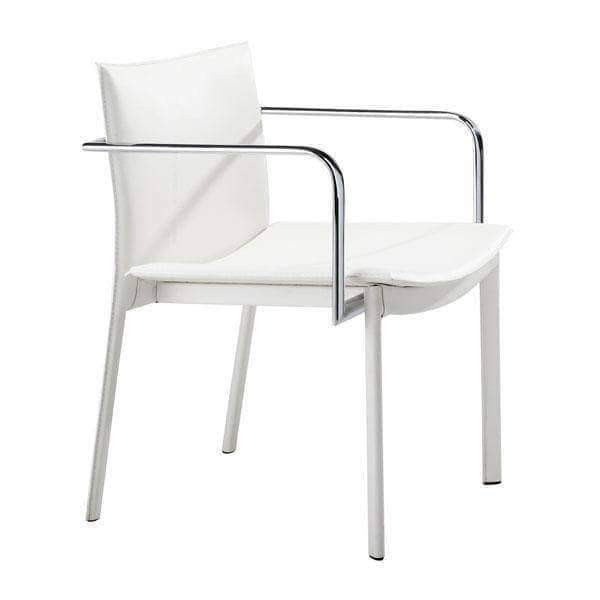 Zuo Modern Chair White Gekko Conference Chair (Includes 2 per Box)